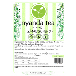 Sambuchino - Tè verde con...